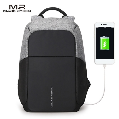 Multi-Function Business Backpack With USB Charge For Man фото