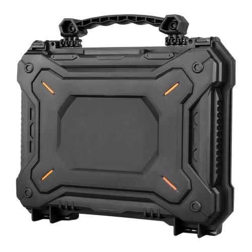 Mehrzweck-Handwerkzeugkoffer Wasserdicht Staubdicht Schlagfest Werkzeugkasten Sicherheitsbox 16 Zoll