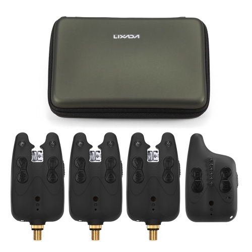 Lixada Wireless Fishing Alarm Fishing Bite Alarms Set