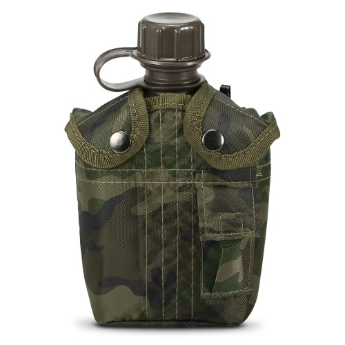 1L Outdoor Military Canteen Bottle