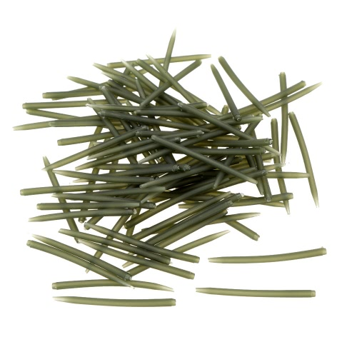 100pcs 53mm Anti Tangle Sleeves Karpfenangeln Tackle Zubehör