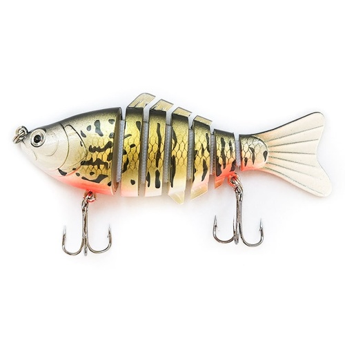 10cm/16g Fishing Lures Artificial Multi Jointed Sections Artificial Hard Bait Image
