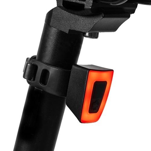 Mini Bike Tail Light USB Rechargeable LED Rear Bike Light Helmet Backpack LED Lamp Safety Warning Strobe Light Image
