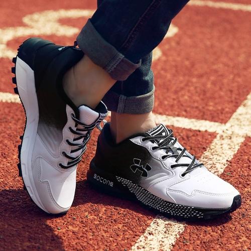 Uomini all'aperto traspirante scarpe da ginnastica a piedi sport scarpe da Running