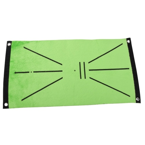 Golf Training Mat Indoor Golf Game Golf Practice Training Cushion Home Office Outdoor Golf Practice Mat Pad with Ground Nails