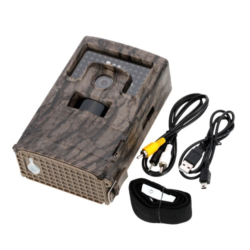 120¡ã Wide Lens Portable Wildlife Hunting Camera 12MP HD Digital Infrared Scouting Trail Camera 940nm IR LED Video Recorder thumbnail