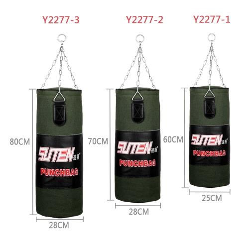 60-80cm boxeo arena de entrenamiento de combate gratis colgar saco vacío tiro con cadena