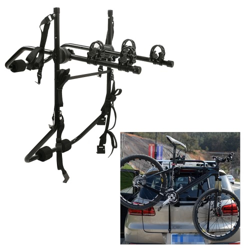 Car SUV Bike Hitch Mount Bicycle Carrier Rack Trunk Mount Rack Image
