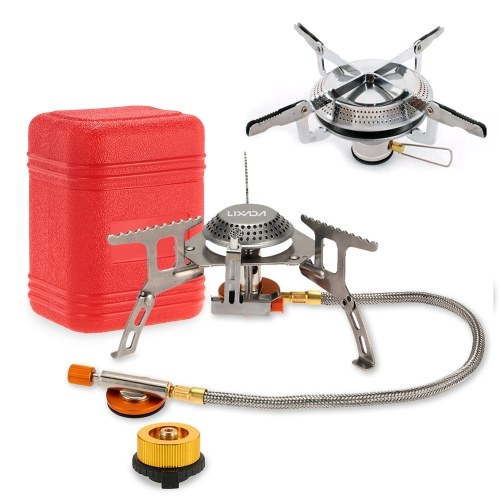 Lixada Camping Foldable Gas Stove Set