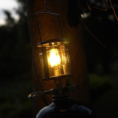 2pcs Outdoor Camping Gas Lantern Mantles Outdoor Light Lamp Mantle Non-radioactive Safe Non-polluting