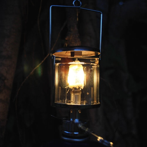 2pcs Outdoor Camping Gas mantelli esterni lampada lanterna di mantello Non radioattivo sicuro Non-inquinanti