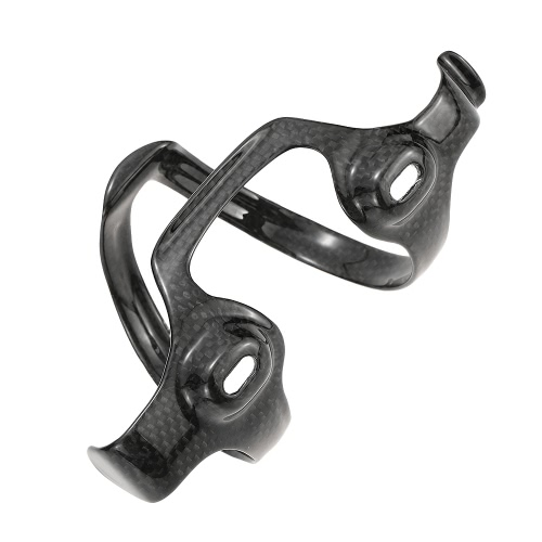Lixada Water Bottle Cages Extra Lightweight Full Carbon Fiber Bicycle Bike Water Bottle Holder Cages Brackets