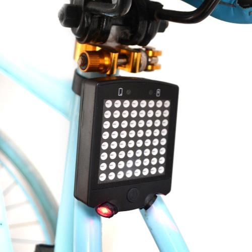 Piloto trasero inteligente de la bici de la carretera de la bici