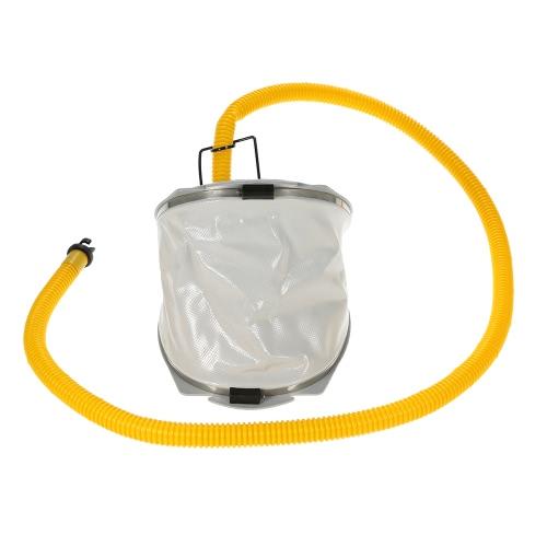 Gommone Kayak Zattera ad alta pressione del piede della pompa di aria pompa con il tubo flessibile adattatore
