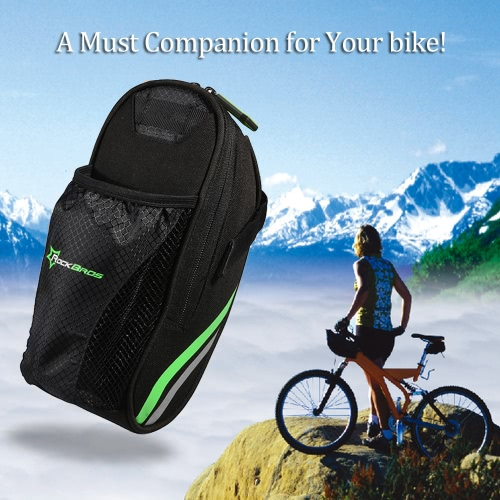 ROCKBROS Cycling Bicycle MTB Road Folding Bike Cycle Rear Back Saddle Bag Seat Bag Pack Carrier