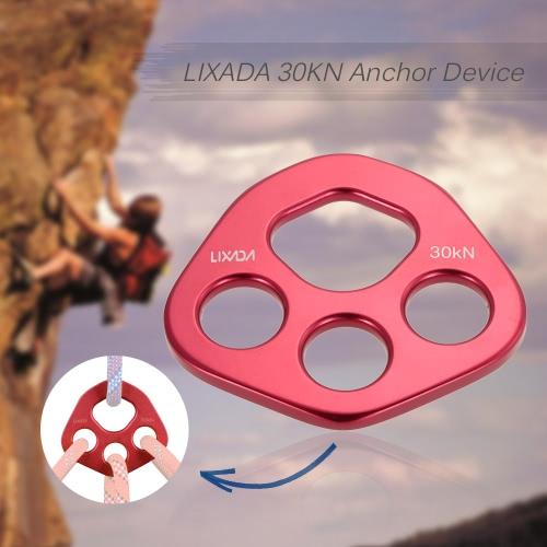 Lixada Consiglio sub-componente 30KN Anchor Alpinismo dispositivo Arrampicata Discesa a corda doppia corda Expand punti di fulcro arrampicata kit