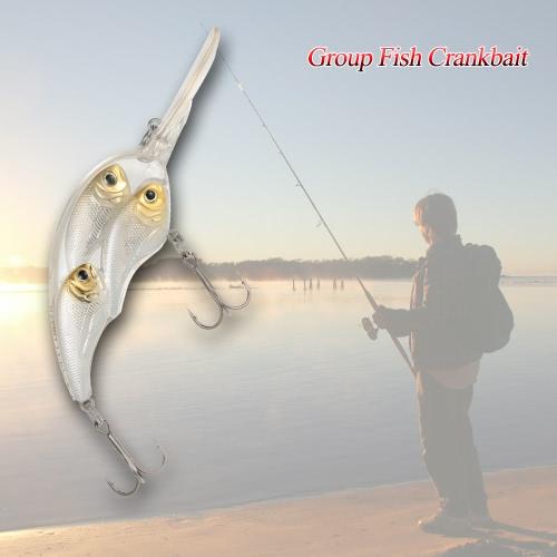 Группа Рыба Приманки Плавающие SwimBait Hard Plastic Fish Eye 3d воблер