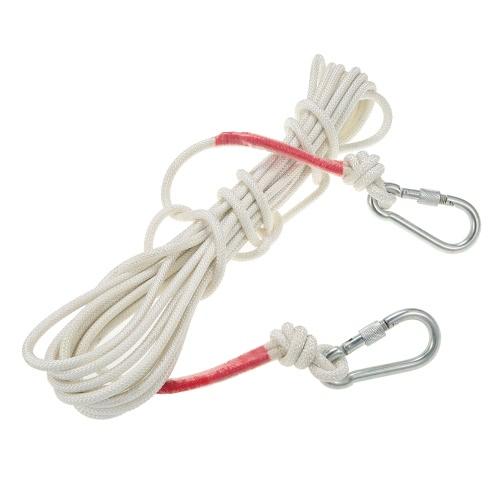 Docooler 8mm * 10m Professionelle Klettern Seil-im Freien Sicherheit Hilfsseil Camping Wandern Caving Abseilen Flucht Rettung Überleben Cord Schlinge Seil