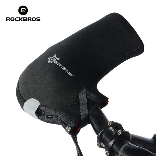 Docooler Cycling Handlebar Mittens Neoprene Rainproof MTB Motor Bar End Mitts Gloves Mountain Bike Hands Covers
