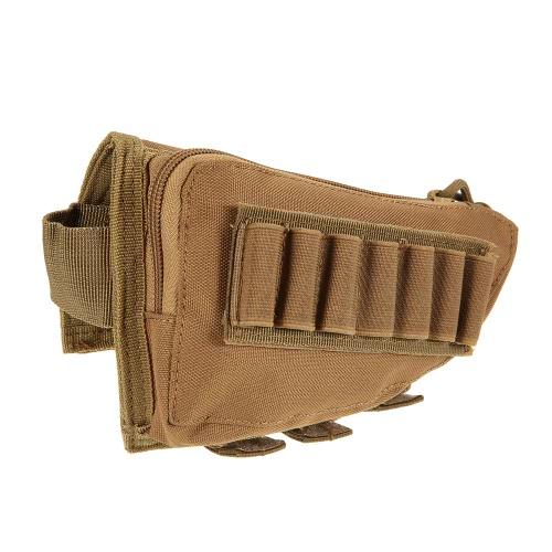 Buttstock Pouch Tactical Pouch caccia di accessori Pouch Holder vettori militari Gear Utility Tool Kit GUANCIALI design