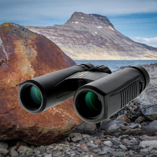 Visionking Compact 10x26 HD Bak4 tetto prisma Ottica binoculare caccia di campeggio esterna Escursionismo binoculare ambito militare Telescope