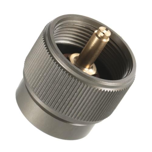 LPG Canister Head Adapter 1L Наружный кемпинг Пропан Малый вход в бак EN417 Выход линдального клапана