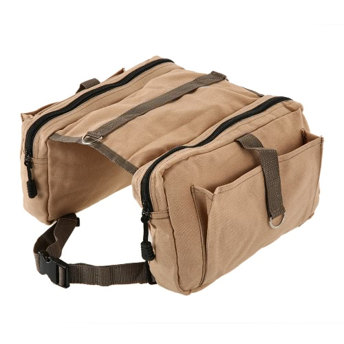 Hound Travel Camping Wandern Rucksack Satteltasche Rucksack Dog Pack für mittlere oder große Hund