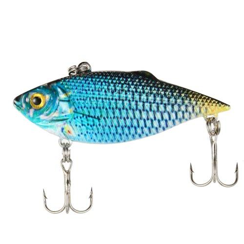 Lixada Lifelike Fishing VIB Lure Fishing Crank Bait Available Artificial Hard Bait Swim Bait