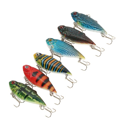 Lixada Lifelike Pesca VIB Lure Pesca Manovella Esca Disponibile Arto Duro Arma Esca da nuoto