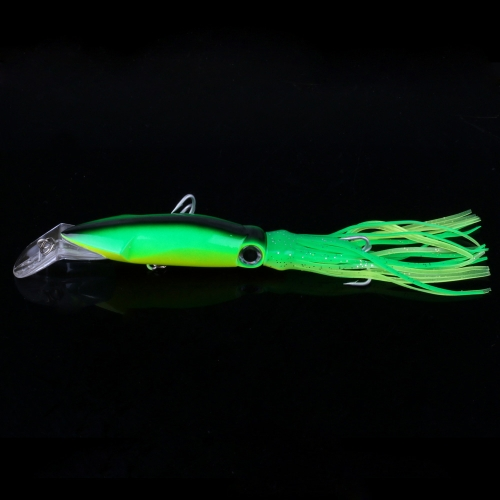 14cm-40g Bionic Squid Baits Artificial Fishing Lures Hard Squid Skirts Octopus Lure Trolling Fishing
