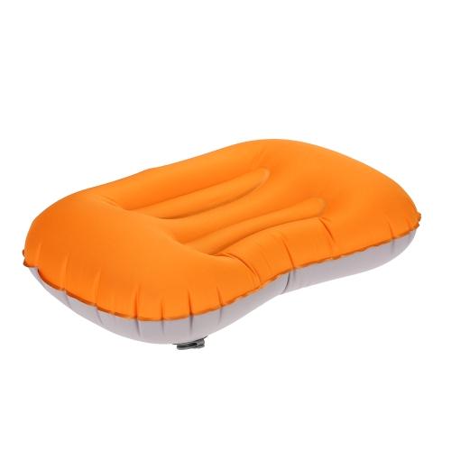 Cuscino gonfiabile pieghevole portatile del cuscino dell'aria per il sonno all'aperto in tutto il mondo caldo dell'hotel di campeggio di viaggio