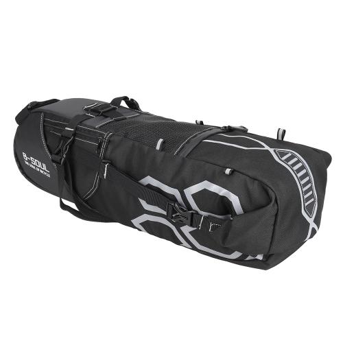 10L Bike Bag Fahrrad Rear Seat Bag Fahrrad Werkzeug Aufbewahrungstasche Radfahren Sattel Schwanz Packs Fahrrad Aufbewahrungstasche