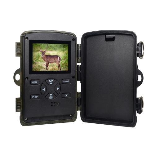 """Cámara del rastro de 16MP 1080P Cámara del juego de caza del explorador de la fauna del LCD 2.4 """""""