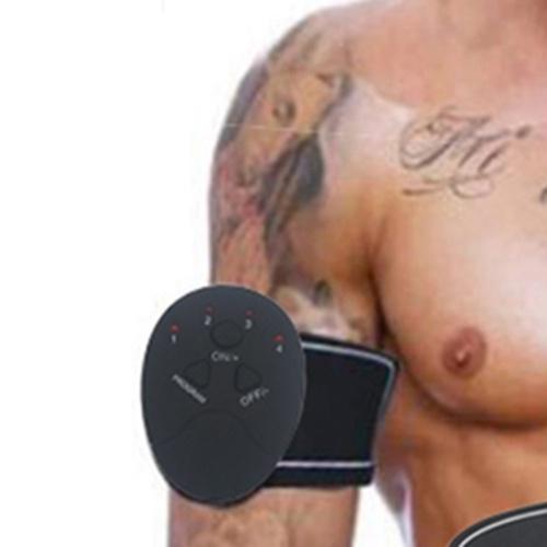 Electric Muscle Stimulator Abdominal Stimulation Muscle Exerciser Training Body Slimming Machine Fat Burning Fitness Massage