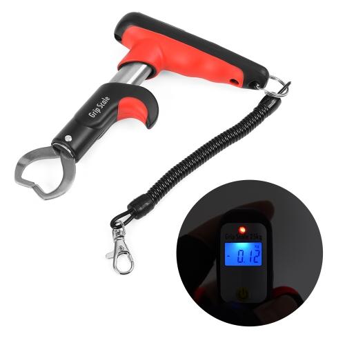 Greifer-Fischen-Lippengriff-Werkzeug-Fisch-Halter mit 55LB Digital-Skala