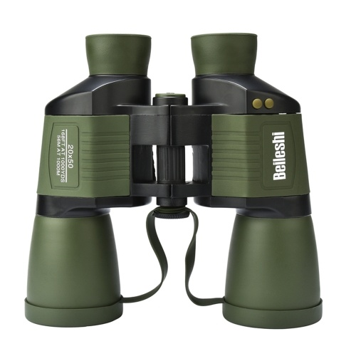 20x50 Binocolo Telescopio Illuminato Outdoor Birding Viaggiare Sightseeing Hunting Rangefinder Binocolo in scala