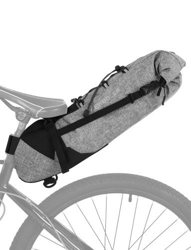 3-10L saco de sela de bicicleta impermeável