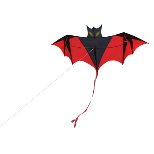 180cm Red Bat Power Kite with Handle