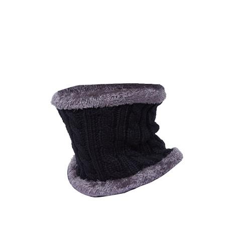 Warme Strickmütze Winter Plüsch Mütze