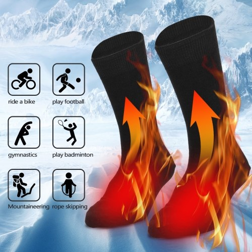 Electric Heated Socks Battery Powered Cold Weather Heat Socks, TOMTOP  - buy with discount