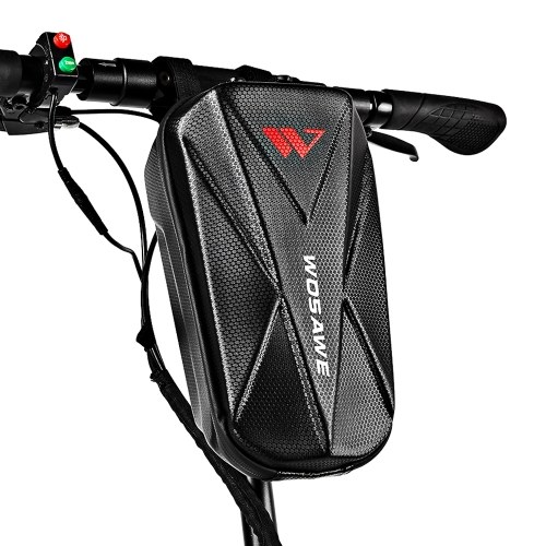 Scooter Handlebar Bag Waterproof Hard Shell EVA Storage Bag for Electric Bike Scooter Image