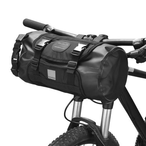 Wasserdichte Fahrradlenker-Beutel vorne Fahrrad-Trockenpackung Großraum-Fahrrad-Aufbewahrungstasche für Rennräder MTB Mountainbike