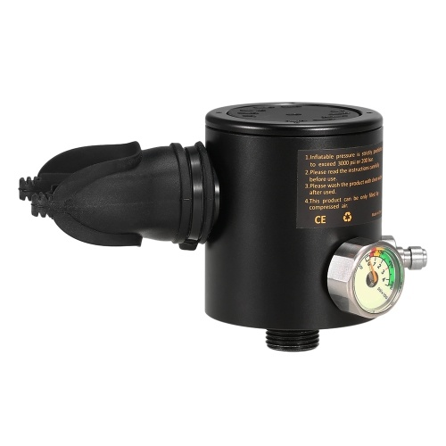 Parte do respirador do mergulhador da cabeça de cilindro do oxigênio 0.5L