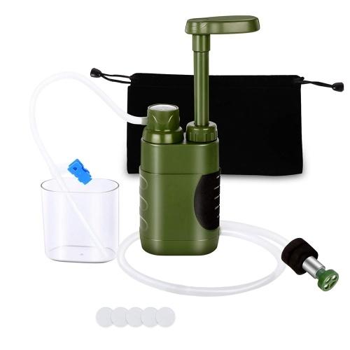 Открытый Фильтр Для Воды Соломенная Система Фильтрации Воды Очиститель Воды для Подготовки Семьи Отдых Туризм Чрезвычайных Ситуаций