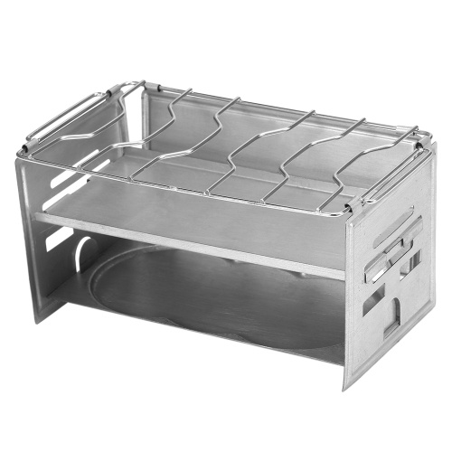 Potable Folding Stainless Steel Backpacking Stove