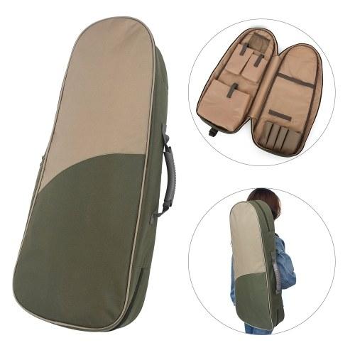 Multifunctional Fishing Rod Bag 29.5in Fishing Rod Reel Protective Cover Bag Fishing Tackle Travel Shoulder Bag Case