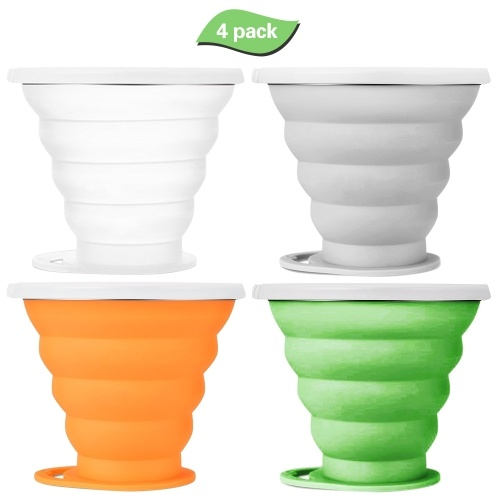 3 Pack Silicone Collapsible Cup фото