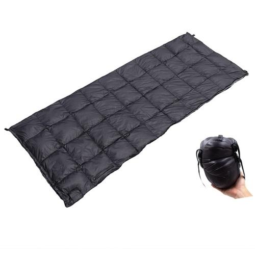 Saco de dormir quente de inverno repelente de água ao ar livre saco de dormir ultraleve mochila camping caminhada envelope saco de dormir