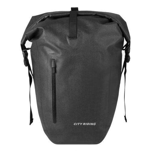 Waterproof Cycling Trunk Bag Bicycle Rear Rack Bag Bike Pannier Bag Travel Bag Image