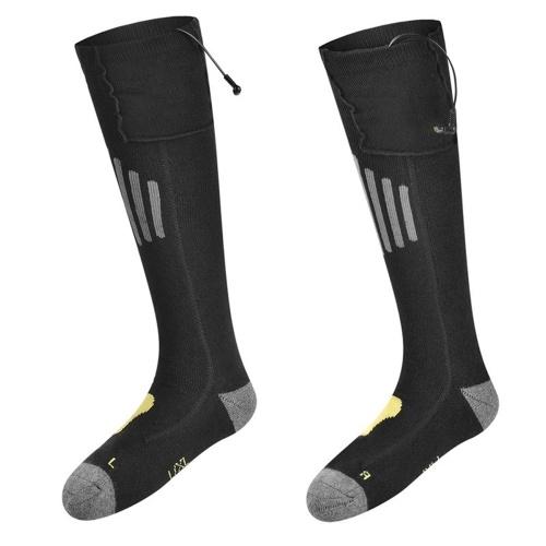 Chaussettes chauffantes électriques rechargeables à piles pour hommes et femmes en plein air, camping, randonnée, moto, chaussettes chaudes d'hiver